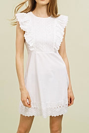 The Abby Eyelet Dress-Dress-Style Trolley