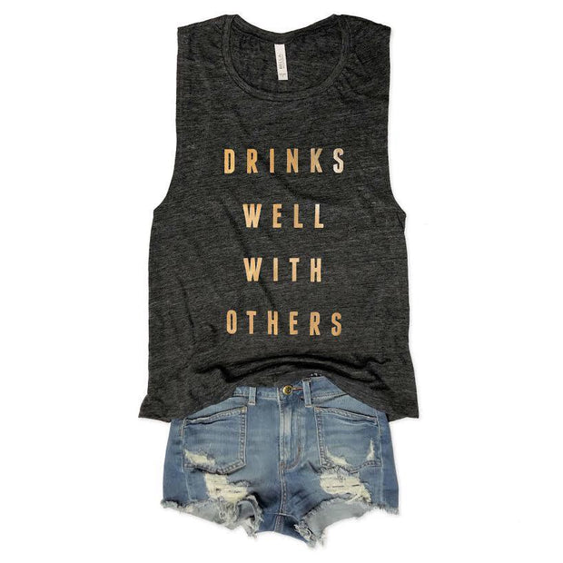 Drinks Well With Others Tank-T-shirt-Style Trolley