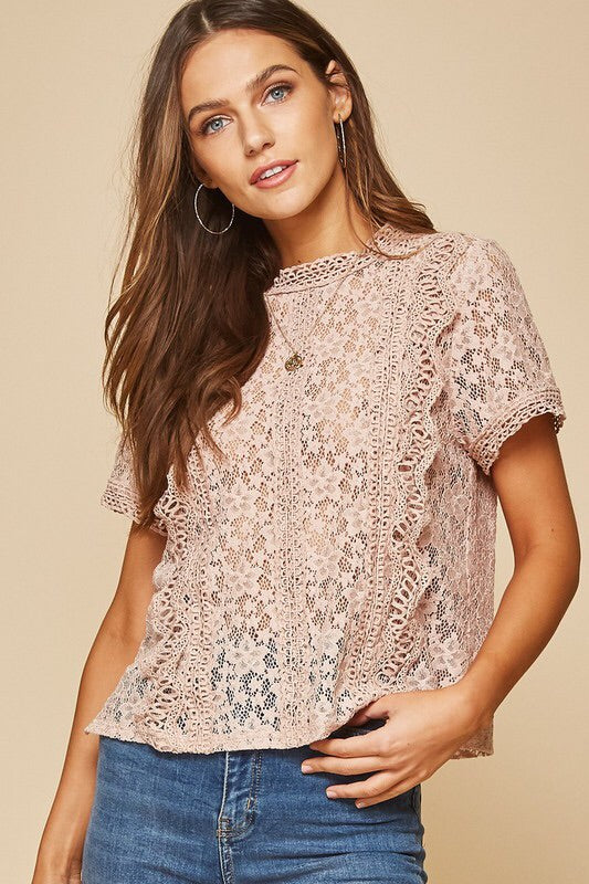 The Selma Lace Top-Style Trolley