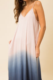 Dip Dyed Maxi Dress-Dress-Style Trolley