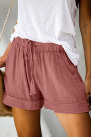 The Lily Essential Cotton Shorts-Shorts-Style Trolley