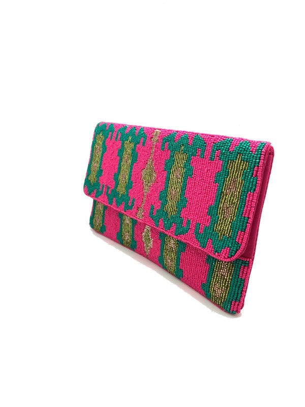 Fuchsia Mini Clutch