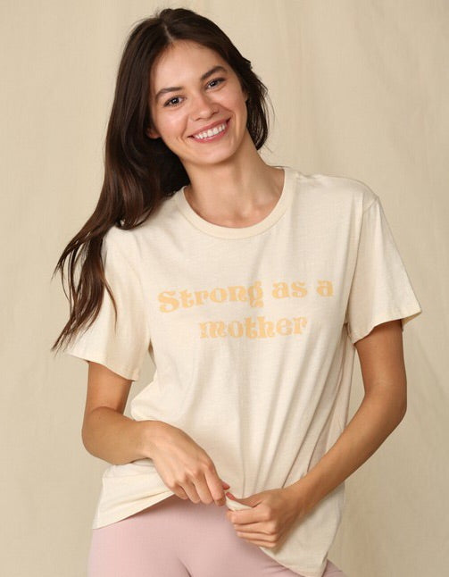 """Strong as a Mother"" Tee-T-shirt-Style Trolley"