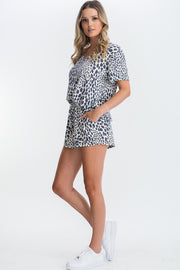 Amaya Cheetah Print Matching Set-Loungewear-Style Trolley