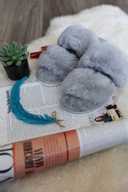 Super Soft Faux Fur Slippers-Slippers-Style Trolley