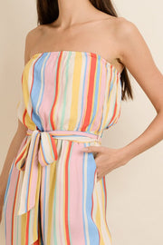 Rainbow Stripe Jumpsuit-Jumpsuit-Style Trolley