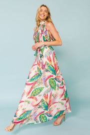 Jolie Halter Maxi Dress