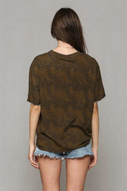Leopard Print Crew Neck-Top-Style Trolley