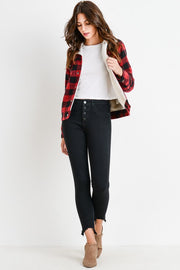 Kirstin Buffalo Plaid Jacket-Jacket-Style Trolley