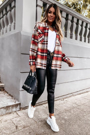 The Chloe Plaid Shacket