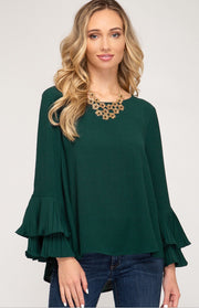 Cecilia Bell Sleeve Top-Top-Style Trolley