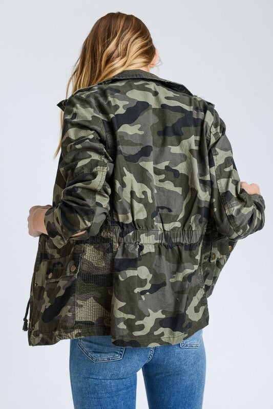 The Adrian Camo Jacket-Jacket-Style Trolley