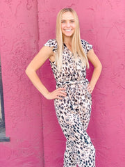 The Payton Leopard Jumpsuit