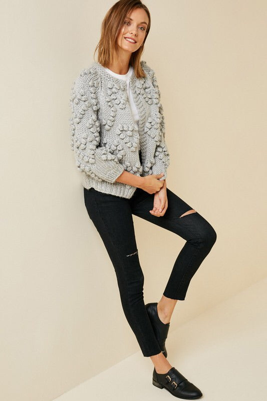 The Daphne Pom Cardigan-Sweater-Style Trolley