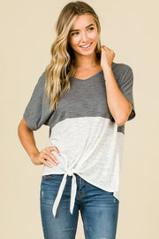 Hailey Color Block Top-Top-Style Trolley