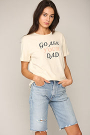 """Go Ask Your Dad"" Tee-T-shirt-Style Trolley"