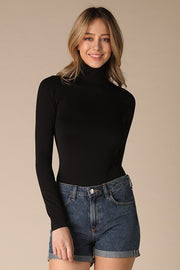 Seamless Turtleneck Bodysuit-Bodysuit-Style Trolley