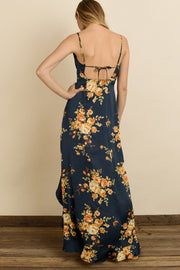 Kristin Floral Print Maxi-Dress-Style Trolley