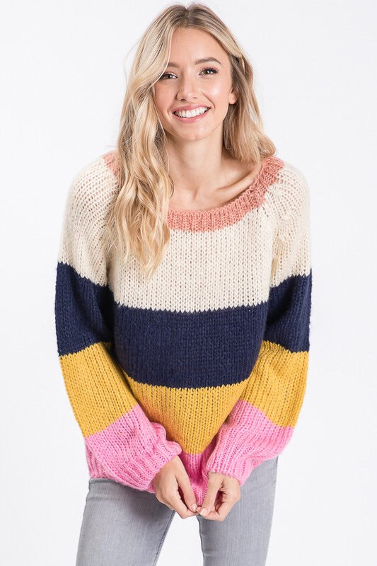 The Sydney Rainbow Sweater-Sweater-Style Trolley