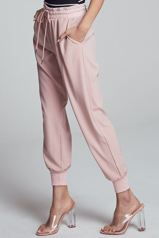 Marianne High Waisted Joggers-Bottoms-Style Trolley
