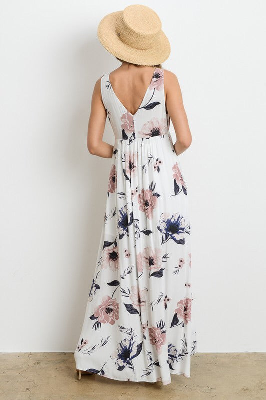 Kristy Tie Front Maxi-Dress-Style Trolley