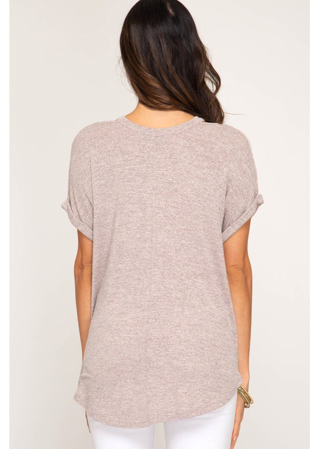 Jesse Short Sleeve Top-Top-Style Trolley