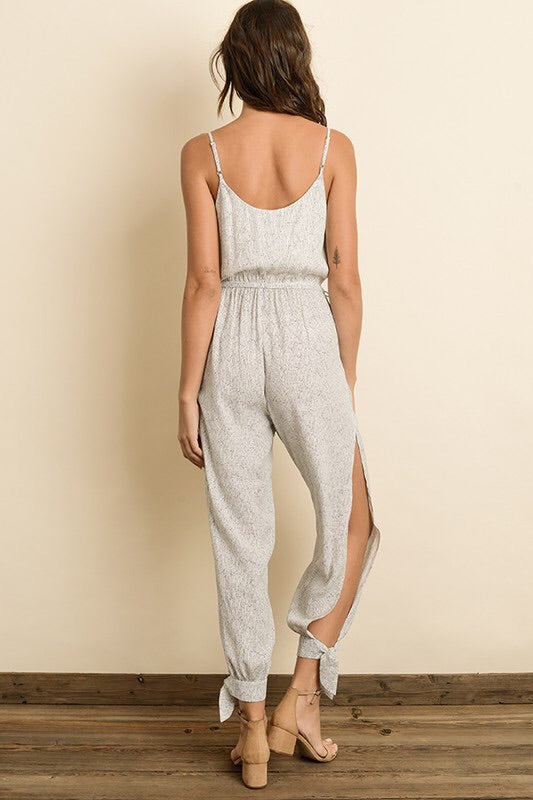 Julia Printed Surplice Jumpsuit-Jumpsuit-Style Trolley