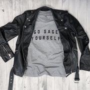 Go Sage Yourself Unisex Tee-T-shirt-Style Trolley