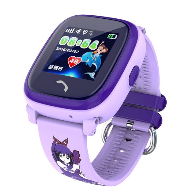 Waterproof GPS Tracker Watch For Kids Swim touch screen SOS Emergency Call Location smart watch DF25 Wearable Children's watch