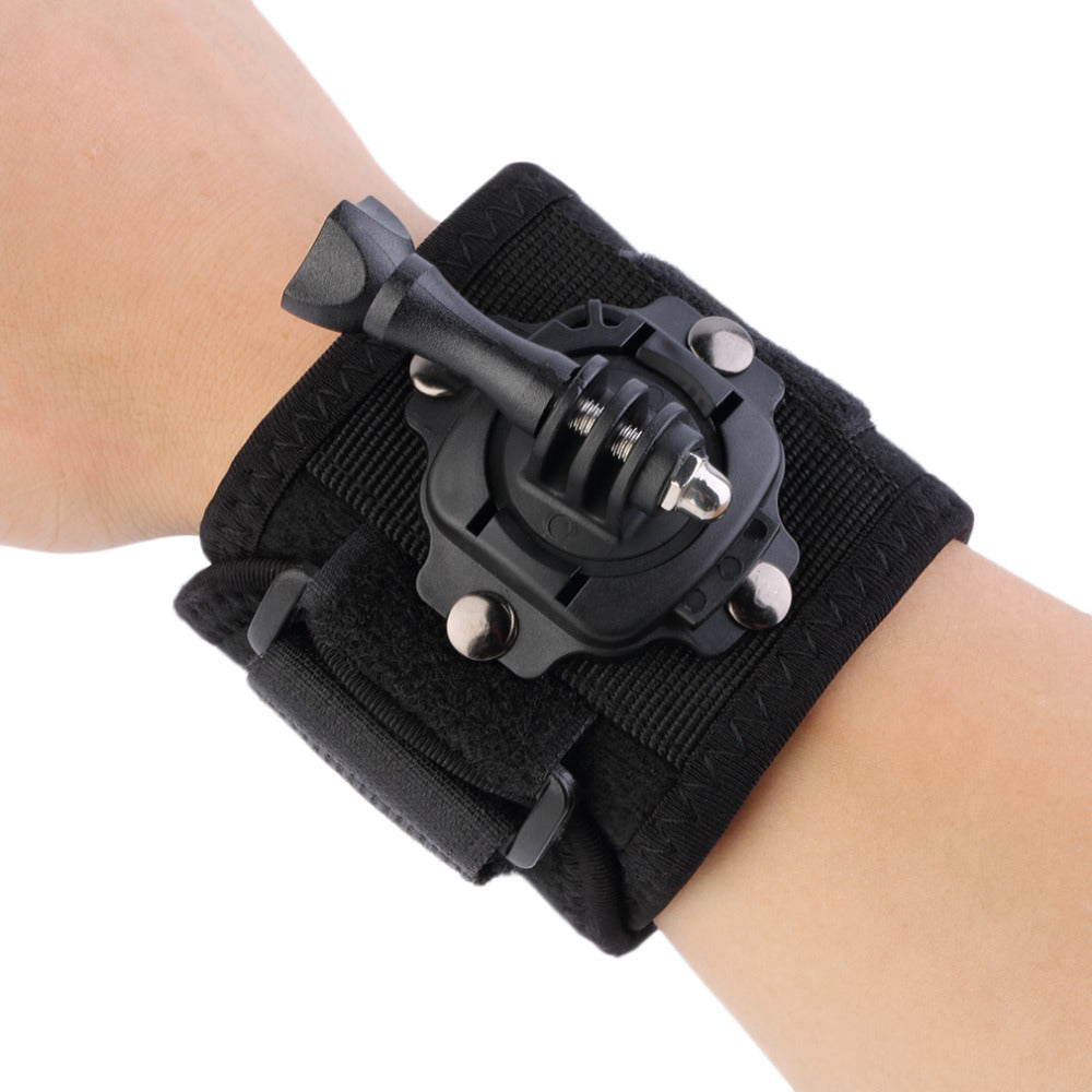 Gopro Accessories 360 Degree Rotating Wrist Hand Strap Band Tripod Mount Holder For GoPro Hero 4 2 3 3+ SJ4000 Action Camera