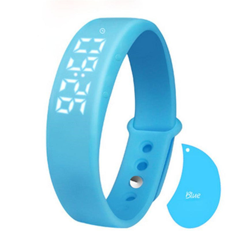 W5 Pedometer Sleep Monitor Temperature Bracelet SmartWatch #