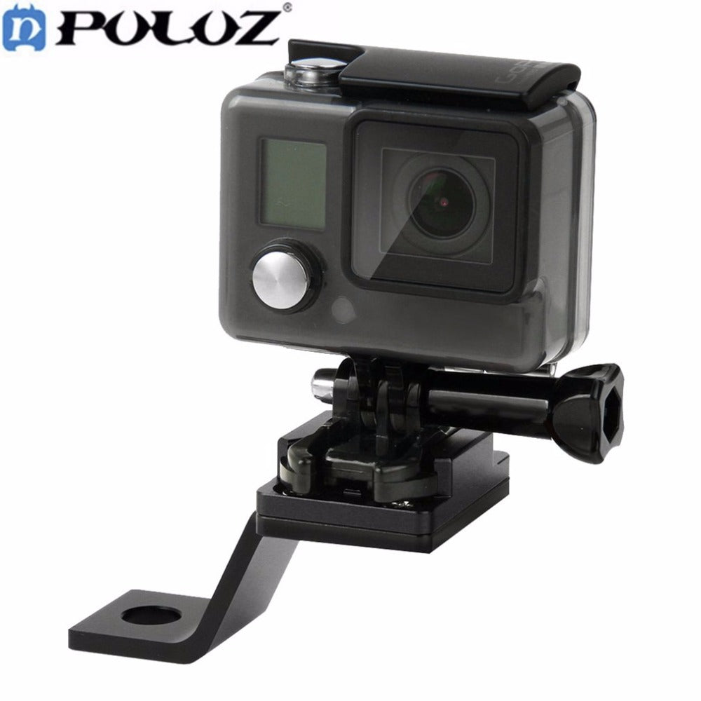 Action Camera, PULUZ Fixed Metal Bicycle Holder Mount For GoPro Accessories For GoPro HERO5 HERO4 Session HERO 5 4 3+ 3 2 1 SJCAM SJ4000 SJ7000