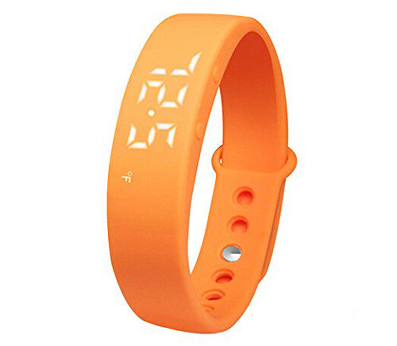 Waterproof LED Wearable Walking Running Pedometer devices  Sports Pedometer Pulsera inteligente Health Track Band