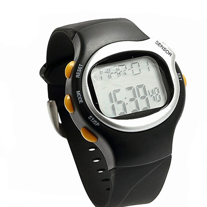 New LED Pulse Heart Rate Monitor Caloriesunter Fitness Watch Brand