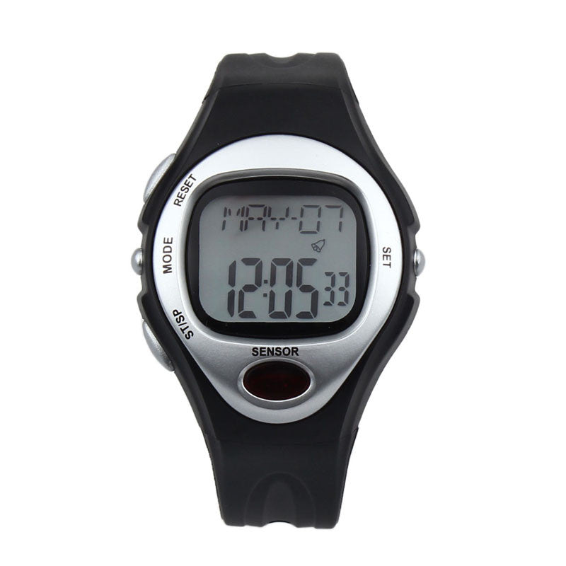 Digital LCD Pulse Heart Rate Monitor Calories Counter Fitness Watch