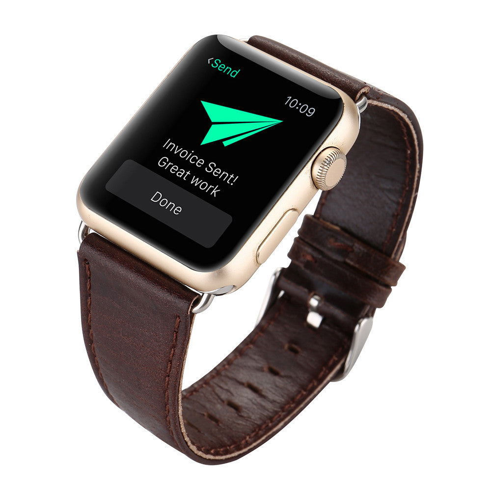 Leatherckle Wrist Watch Band Strap Belt for Watch Apple Watch 42mm