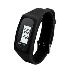 Digital LCD Pedometer Run Step Walking Distance Calorie Counter Bracelet