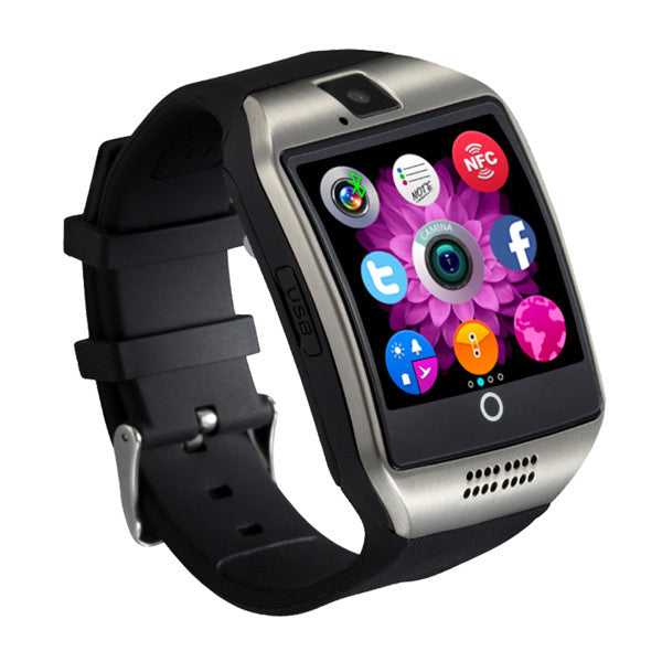 Q18 Bluetooth Smart Bracelet Watch Phone Support SIM TF Wearable Devices Sleep Monitor/Remote for Android Smartphone iPhone