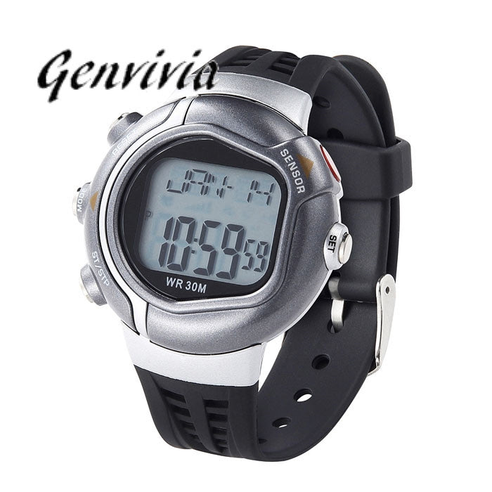 New Men's Watch Waterproof Fitness Heart Rate Monitor Sport Watch Calories Counter 5 Colors High Quality