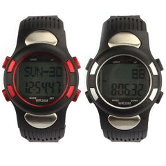 New Fitness 3D Pedometer Calories Counter Watch Pulse Heart Rate Monitor Girls LED Digital Waterproof Outdoor Sport watches