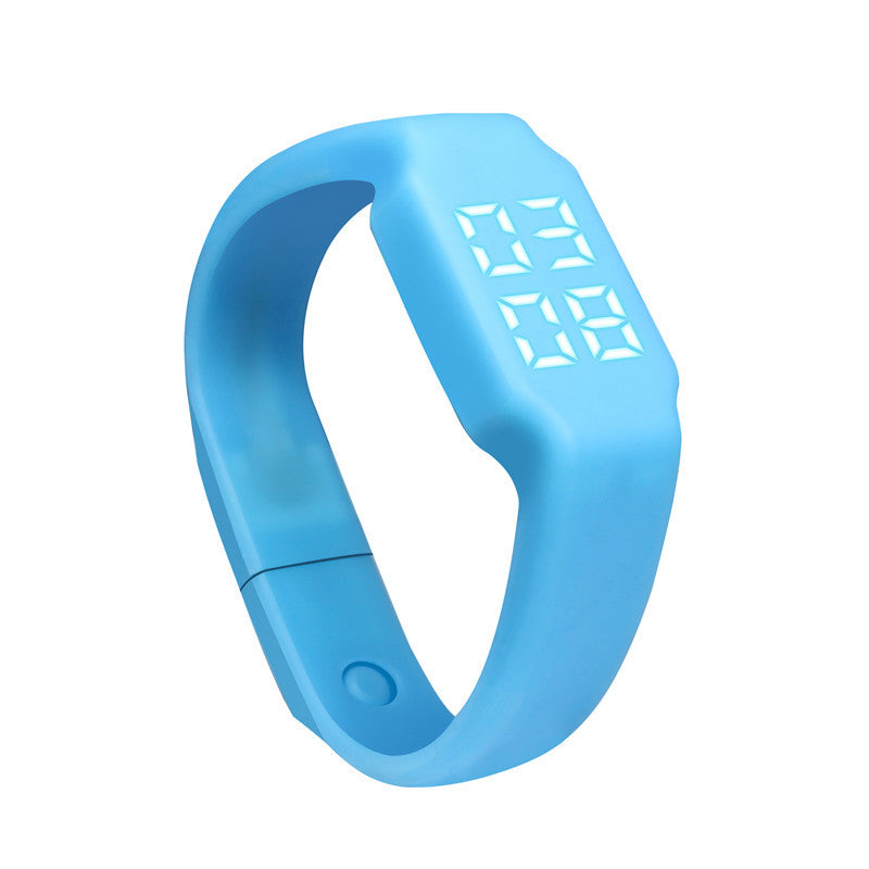 New Arrival 3D LED  Display Calorie Pedometer Walking Running Jogging Walking Distance Calculation Wearable Fitness Tracker#20