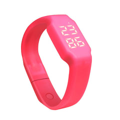 New Arrival Fitness Pedometer Activity  Step Pedometer Digital Counter Sleep Monitor wearable Bracelet For Women#20