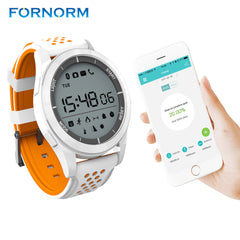FORNORM F3 Smart Watch IP68 Waterproof Bluetooth 4.0 Pedometer Sport Fitness Soprts Tracker Bluetooth Push For iOS/Android
