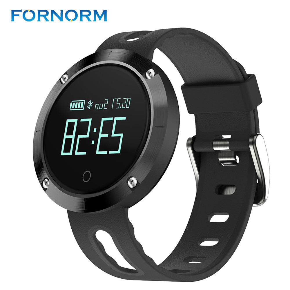 FORNORM Multifunctional Fitness Tracker Smart Watch Activity Monitor Heart Rate Monitor Blood PressureTracker Pedometer