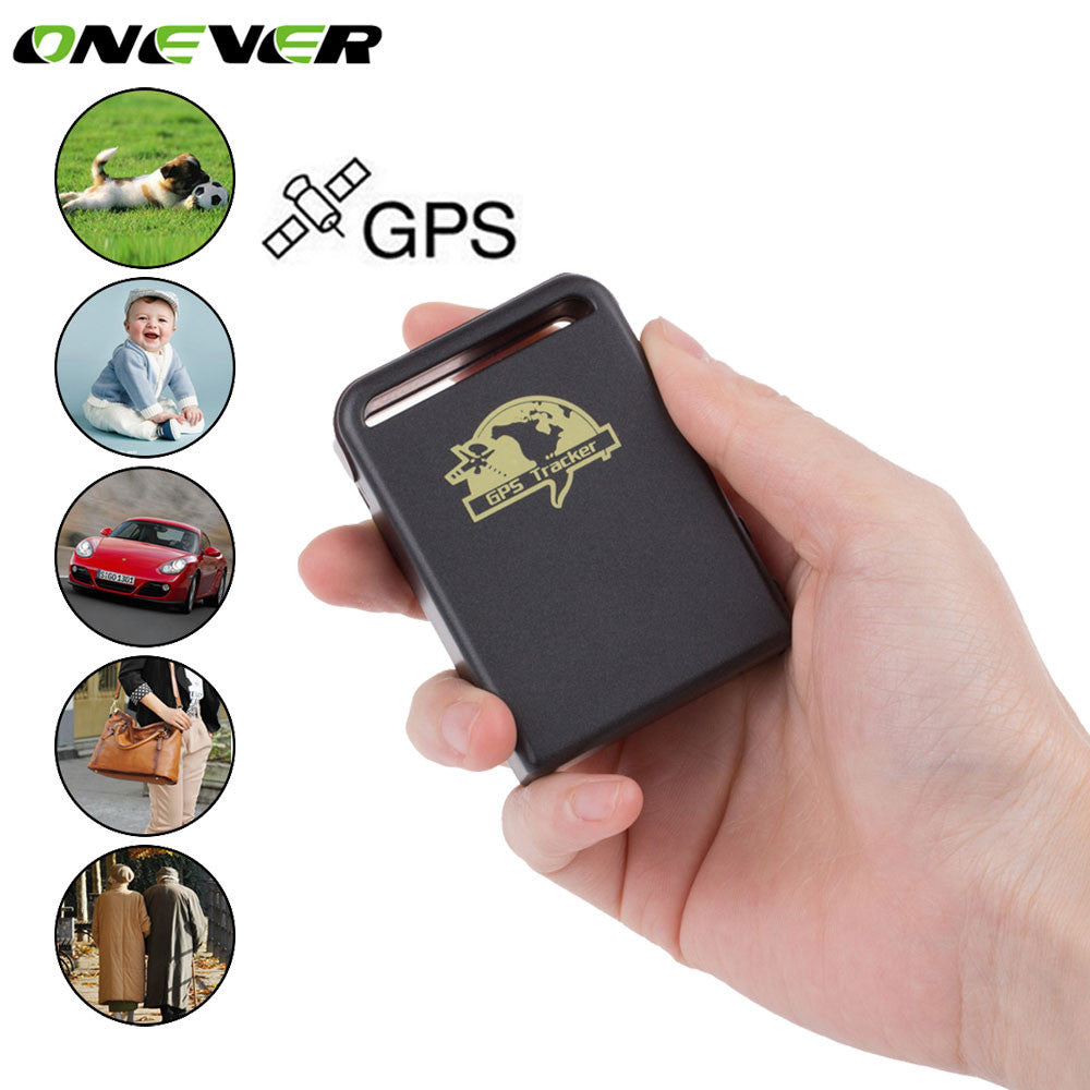 GPS Tracker Car Real Time Vehicle GPS Trackers GSM GPRS Tracking Device Handheld Global GPS Locator For Children Kids Pet Dog