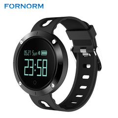 FORNORM Fitness Tracker Smart Watch Monitor Heart Rate Bracelet Pedometer Sleep Activity Wristband Wrist Watch Wearable Device