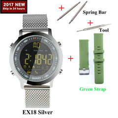 Hold Mi EX18 Sport Smart Watch Waterproof IP68 5ATM Passometer Xwatch Swimming Smartwatch Bluetooth Watch IOS Android