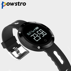 Powstro Fitness Tracker Smart Watch Activity Monitor and Sleeping Management Heart Rate Monitor Blood Pressure Tracker Pedometer