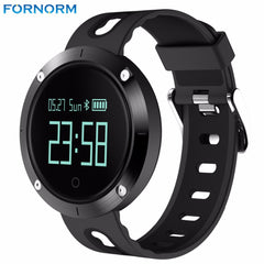 Fornorm Smart Bracelet Fitness Tracker Smart Watch Activity Monitor and Sleeping Management Heart Rate Monitor Blood Pressure