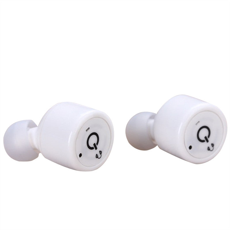 Mini Wireless Bluetooth Stereo In-Ear Invisible Earbuds Headset Earphones